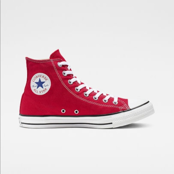 Red Converse Shoes Size